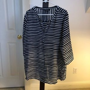 Ellen Tracy blouse, size XL